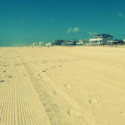 Strand von Long Beach Island