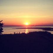 Sonnenuntergang überm Altantik