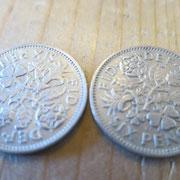 加工前のコイン