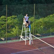 court de tennis - hameau de thouy - amis - Tarn - Sidobre