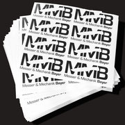 >> Produktaufkleber / Product Stickers, Vinyl Folie, 120 x 50 mm