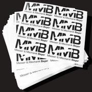Produktaufkleber / Product Stickers, Vinyl Folie, 120 x 50 mm
