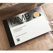 Firmenschild / Werbetafel 600 x 400 mm Aluminium Verbundplatte, MMB Staufen  >> Company Sign 600 x 400 mm Aluminium Composite, MMB Staufen