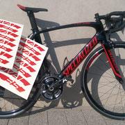 >> Aufkleber / Beschriftungen Fahrräder/Motorräder, Labels for Bikes