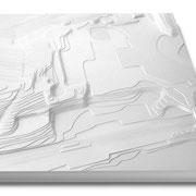 Architektur-Modellbau, Gelände-Schichtmodelle