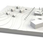 Städtebau-Modelle, Massenmodelle für Wettbewerbe
