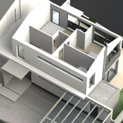 >> Visualisierung Architektur 3D CAD Rendering  >> Visualization Architecture, 3D CAD Rendering