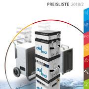 Grafikdesign Katalog, Preisliste 2018, www.doelco.de  >> Graphic Design Catalog, Price List, www.doelco.de