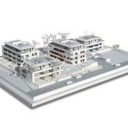 Architektur-Modellbau, klassisch