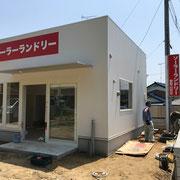 2018年香取市看板製作 ㈱菅谷工務店様 電飾看板、壁面パネルサイン、デザイン、製作、施工
