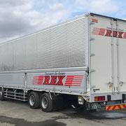 2018年成田市看板製作 ㈱REX様 トラックマーキング デザイン、製作、施工