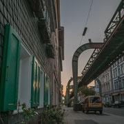 Die Schwebebahn Wuppertal Elberfeld ist außer Betrieb