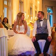 Brautpaar bei einer Hochzeit in Teutschenthal Bild c by www.karstenadebahr.de