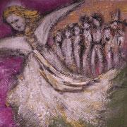 Farbenmagie - Heilung der Ahnenreihe 30x30cm