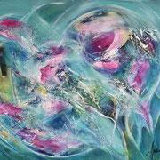 Farbenmagie - Emotionale Abgrenzung 60x50cm