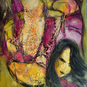 Farbenmagie - Selbstermächtigung 60x50cm