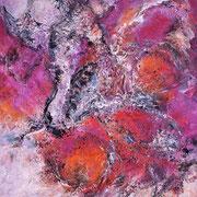 Farbenmagie - Liebesgeflüster 60x50cm