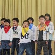 1年生  歌と合奏「みんななかよし! 1年生」