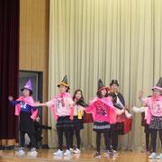 4年生 劇「ドラキュラ学校」