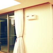 リノベーション E邸 カーテンボックスを天井へ