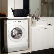 リノベーション A邸 洗濯機を収納