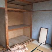 戸建をカフェに 工事前