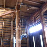 戸建をカフェに 工事3日目