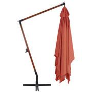 ombrellone #legno #braccio #laterale #sbalzo #arancio #4x3