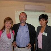 2009, Патрик Серио (Лозанна) со слушателями школы