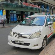 Ein vietnamesisches Taxi.