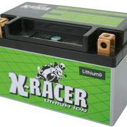 Unibat X-Racer Lithium 9, 210 CCA, Abmaße 150 x 87 x 93 mm, Gewicht 0,9 kg