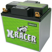 Unibat X-Racer Lithium 15, 540 CCA, Abmaße 167 x 124 x 163 mm, Gewicht 2,0 kg