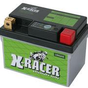Unibat X-Racer Lithium 2, 150 CCA, Abmaße 113 x 70 x 85 mm, Gewicht 0,6 kg