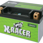 Unibat X-Racer Lithium 7, 1300 CCA, Abmaße 150 x 87 x 93 mm, Gewicht 0,5 kg