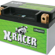 Unibat X-Racer Lithium 10, 240 CCA, Abmaße 150 x 87 x 93 mm, Gewicht 1,1 kg