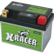 Unibat X-Racer Lithium 1, 120 CCA, Abmaße 223 x 70 85 mm, Gewicht 0,5 kg