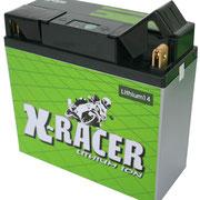 Unibat X-Racer Lithium 14, 450 CCA, Abmaße 185 x 81 x 170 mm, Gewicht 1,7 kg