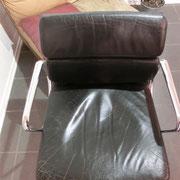 Stuhl vor Aufarbeitung komplett von oben