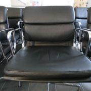Stuhl aufgearbeitet