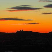 Sonnenaufgang - Blick auf die Festung