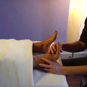 Fußreflex Behandlung