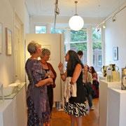 Kunstenaar Nicoline, Liesbeth en Ruth(van links naar rechts)