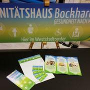 Sanitätshaus Bockhardt, Flyer-Briefpapier-Visitenkarten