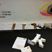 Augenarzt Krüger, Terminblock-Visitenkarte-Namenschild