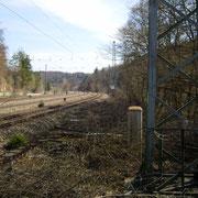 Der selbe Standort mit Blick in Richtung Ingolstadt (Bild: Rico Schubert)
