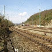Blick Richtung Bahnhof vom Standort des Ehemaligen Stw1 (Bild: Rico Schubert)