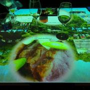 Im izkaya wird am Touch-Table bestellt.