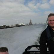 Mit Highspeed durch den Hafen