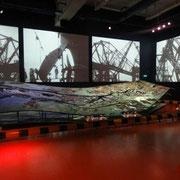 Das Hafen-Modell im Maritim Museum