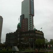 Das Hotel New York. In der Nähe liegt auch ein Cache.